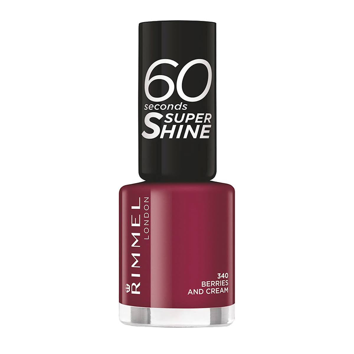 Rimmel 60 Seconds Super Shine Nail Polish - 340 Berries and Cream