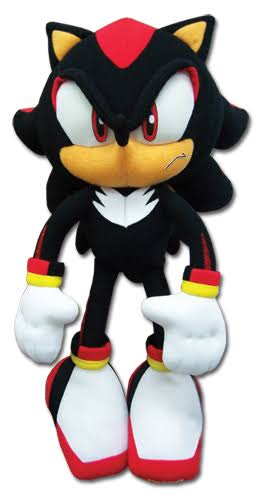 Great Eastern Sonic the Hedgehog Plush Soft Toy - Shadow, 12""