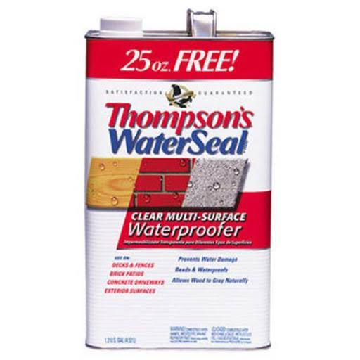 Thompson's WaterSeal Multi-Surface Waterproofer - Clear, 1.2 gal