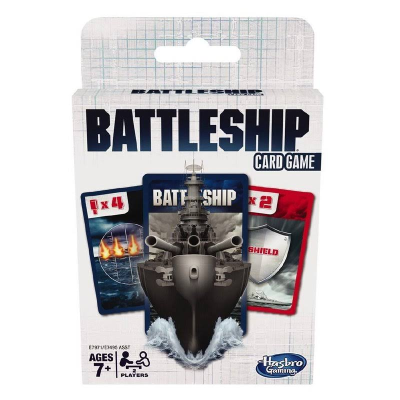 Battleship Card Game for Kids Ages 7 and Up, 2 Players Strategy Game