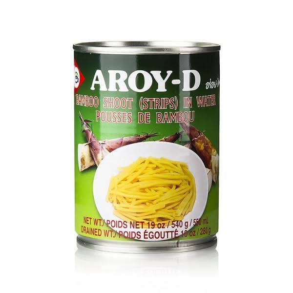 Aroy D Bamboo Shoot in Water Canned Vegetables - 19oz