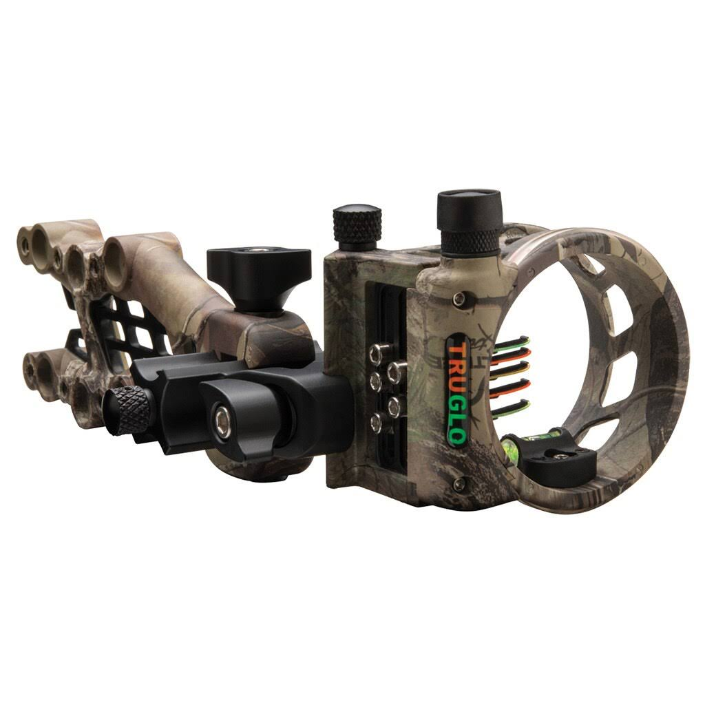 Truglo Carbon Hybrid Micro Adjust Sight - 5-Pin