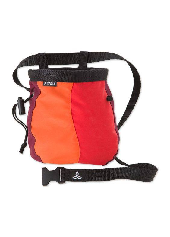 prAna Chalk Bag with Belt Tangerine