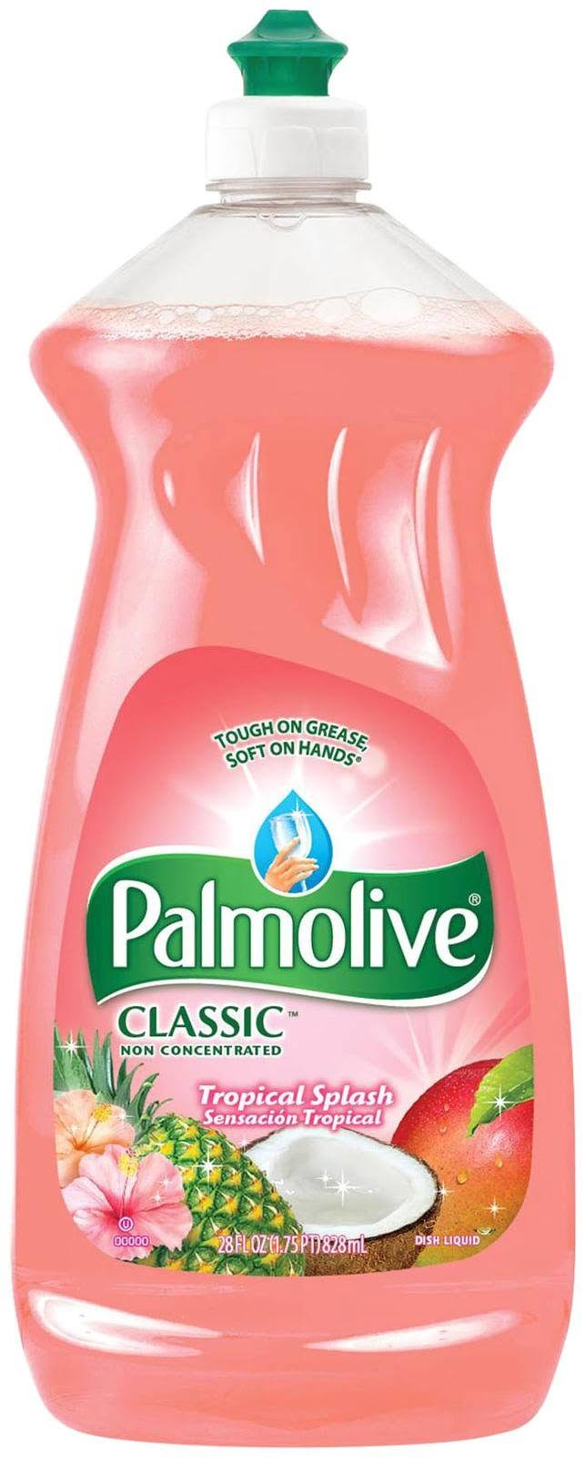 Palmolive Classic Dish Liquid - Tropical Tango, 828ml