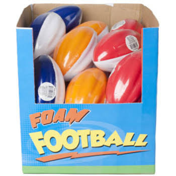 DDI 2276470 Foam Football Case of 48