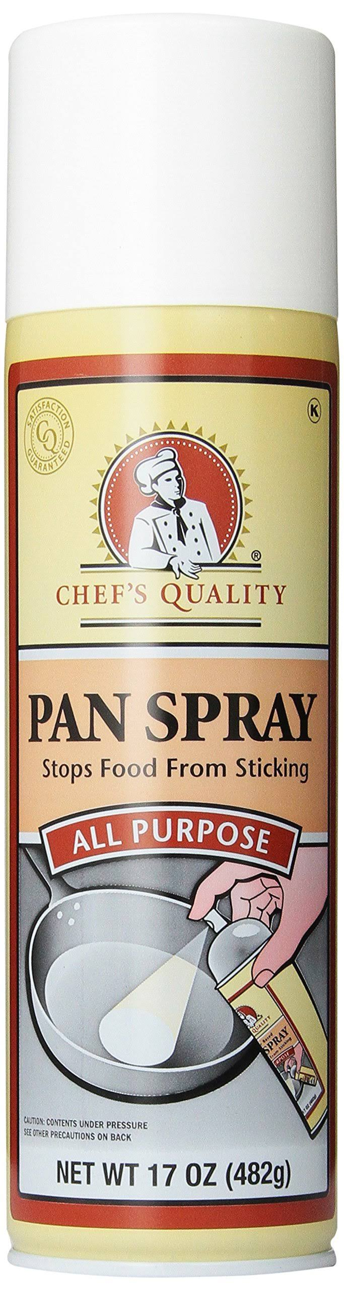 Chef's Quality Multi Purpose Pan Spray - 17oz