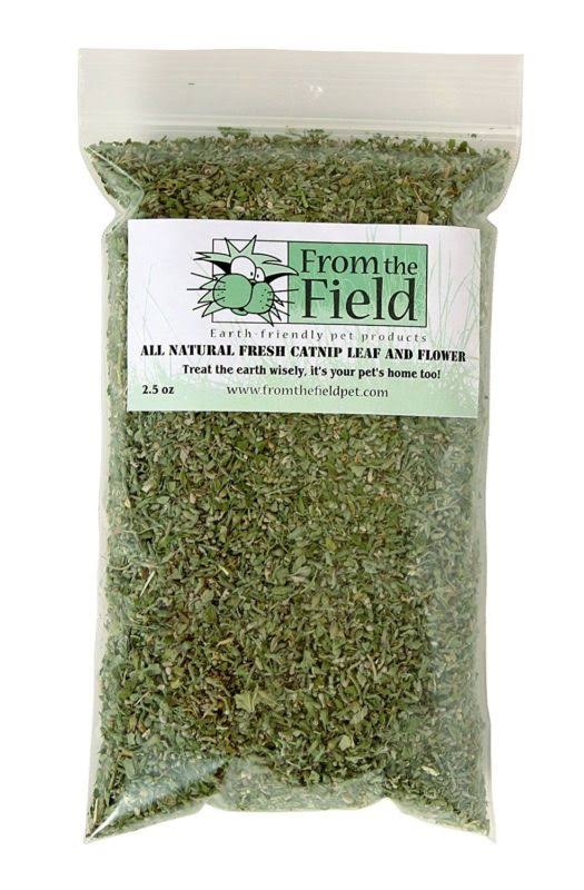 From The Field Catnip Leaf & Flower - 2.5oz