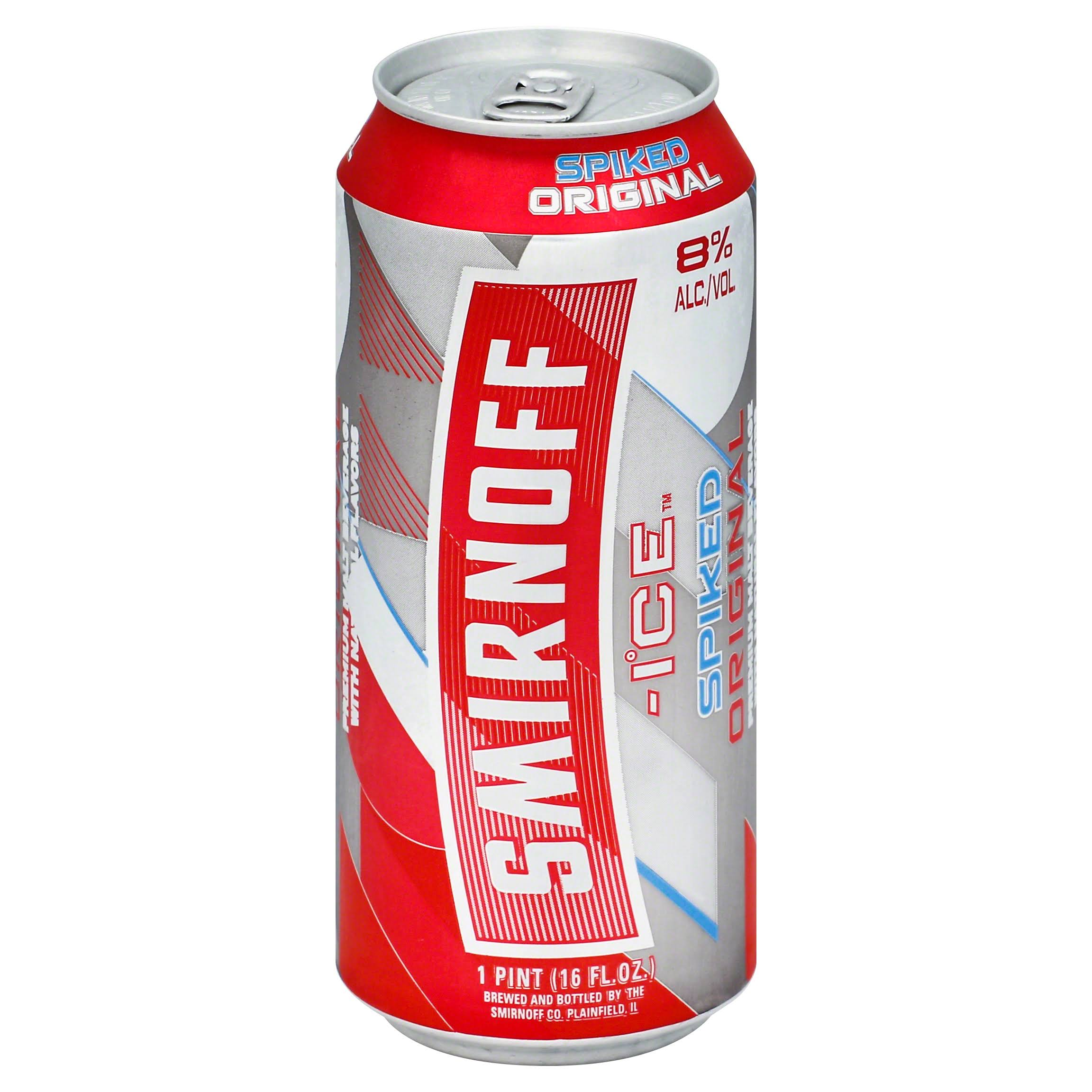 Smirnoff Ice Malt Beverage, Premium, Spiked Original - 16 fl oz