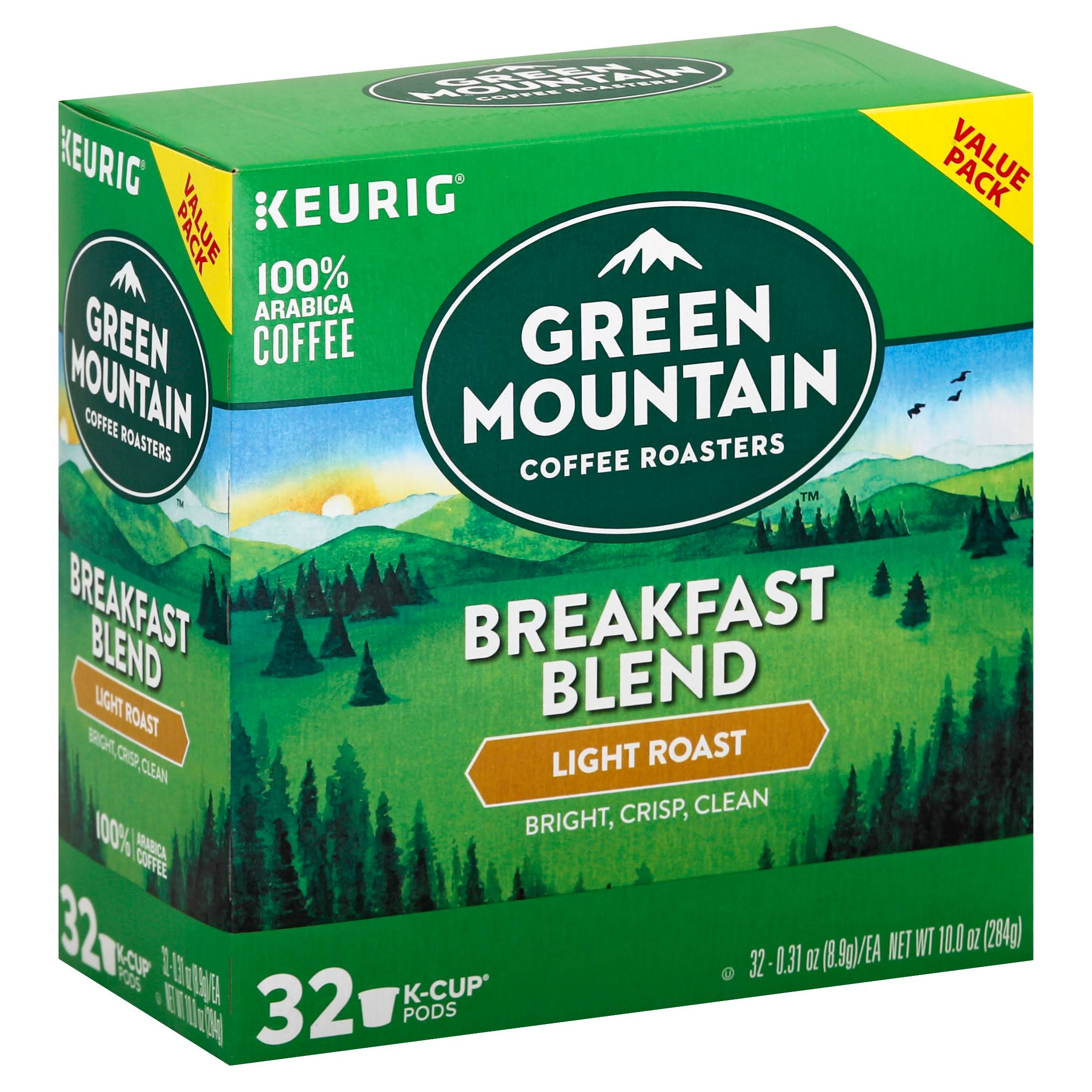Green Mountain Coffee Keurig® Light Roast Coffee K Cup Pod Pack - 32pk