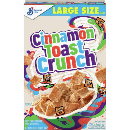 Cinnamon Toast Crunch Cereal - 476g