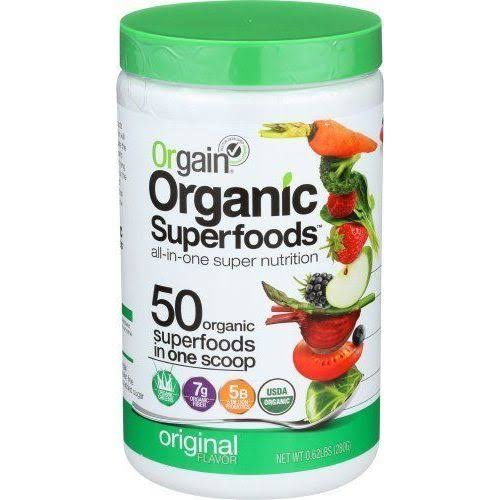 Orgain Organic Superfoods All-in-One Super Nutrition Supplement - Original Flavor, 0.62lbs