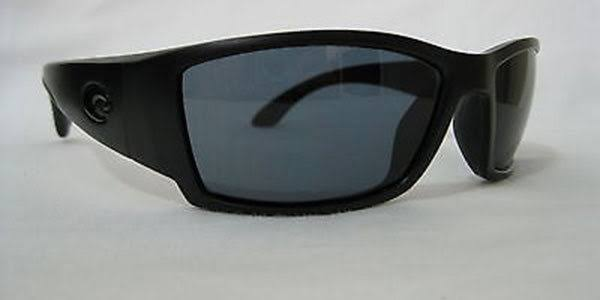 Costa Del Mar Corbina Blackout Sunglasses - 62mm