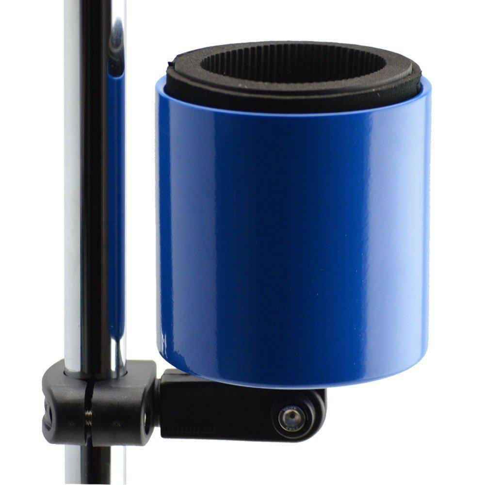 Kroozie Cups Deluxe Bicycle Beverage Holder Blue