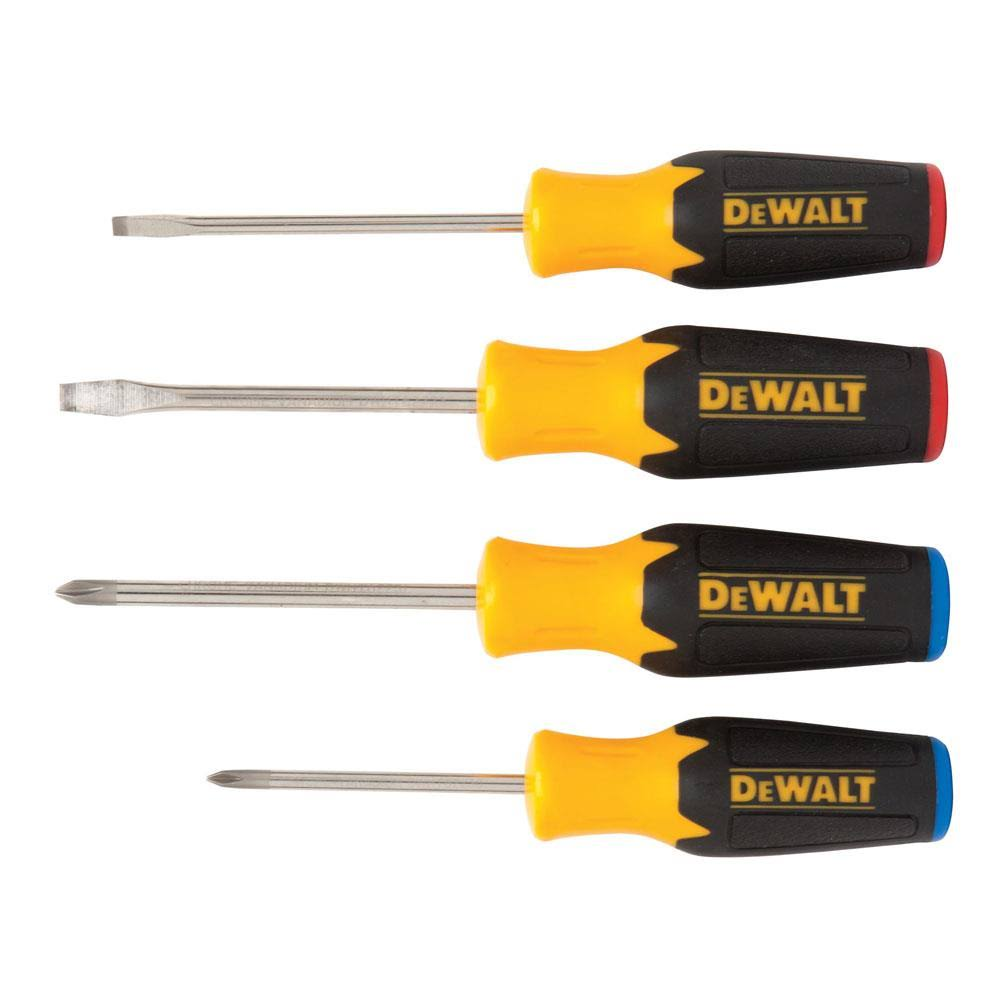 Stanley Tools Dewalt Screwdriver Set - 4pc