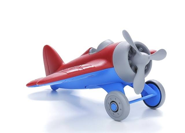 Green Toys Airplane - Assorted Colours
