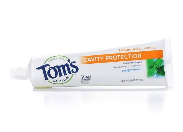 Tom's of Maine Cavity Protection Toothpaste - Peppermint, 5.5oz