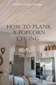 Armstrong Woodhaven Ceiling Planks by How To Plank A Popcorn Ceiling