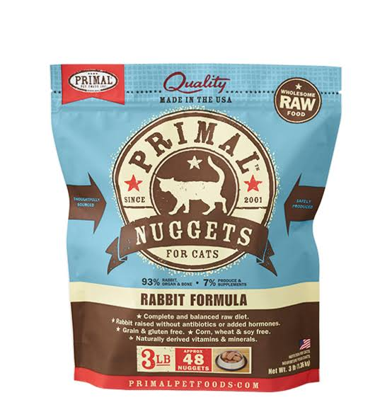 Primal Formula Cat Food - Rabbit