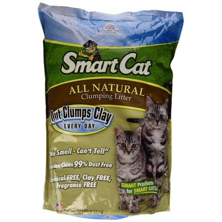 SmartCat All Natural Clumping Litter - 10lb