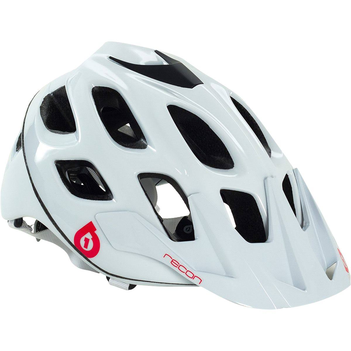 SixSixOne Recon Scout Helmet White/Red - L/XL