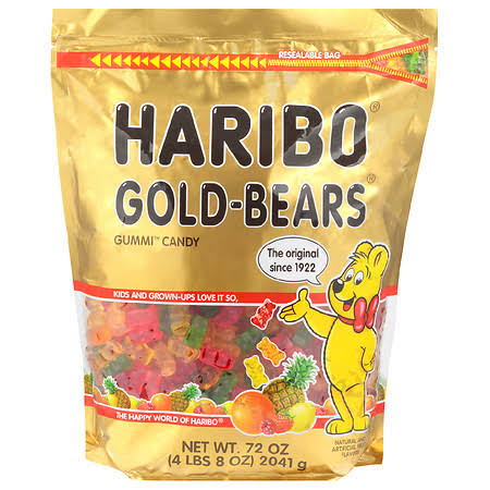 Haribo Original Gold-Bears Gummi Candy - 10 oz