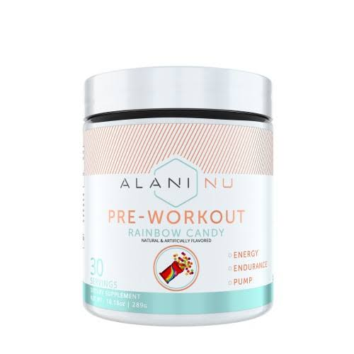 Alani Nu Pre-Workout - Rainbow Candy