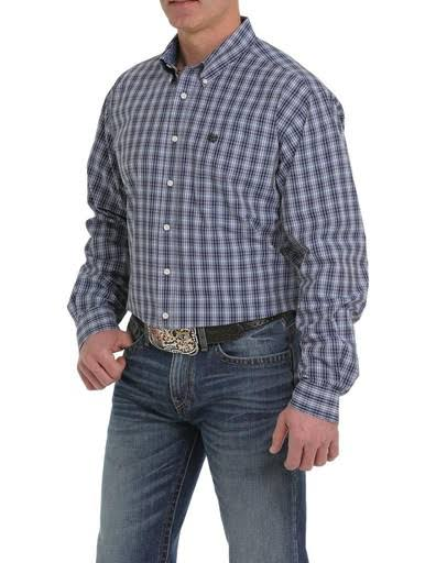 Cinch Western Shirt Mens Plaid Long Sleeve Multi-color MTW1104929