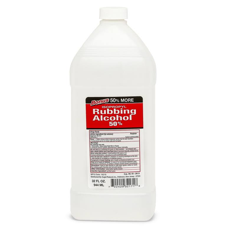 Bonus Rubbing Alcohol - 32oz