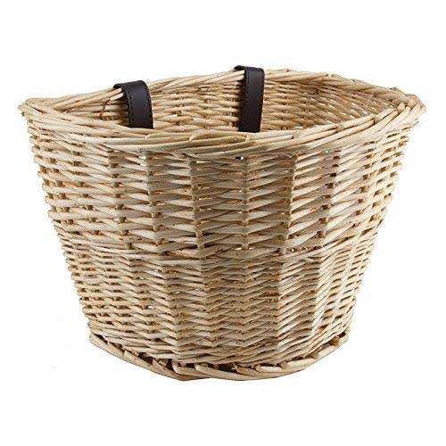 "Sunlite Willow Classic Bike Basket - 14"" x 10"" x 8.5"""