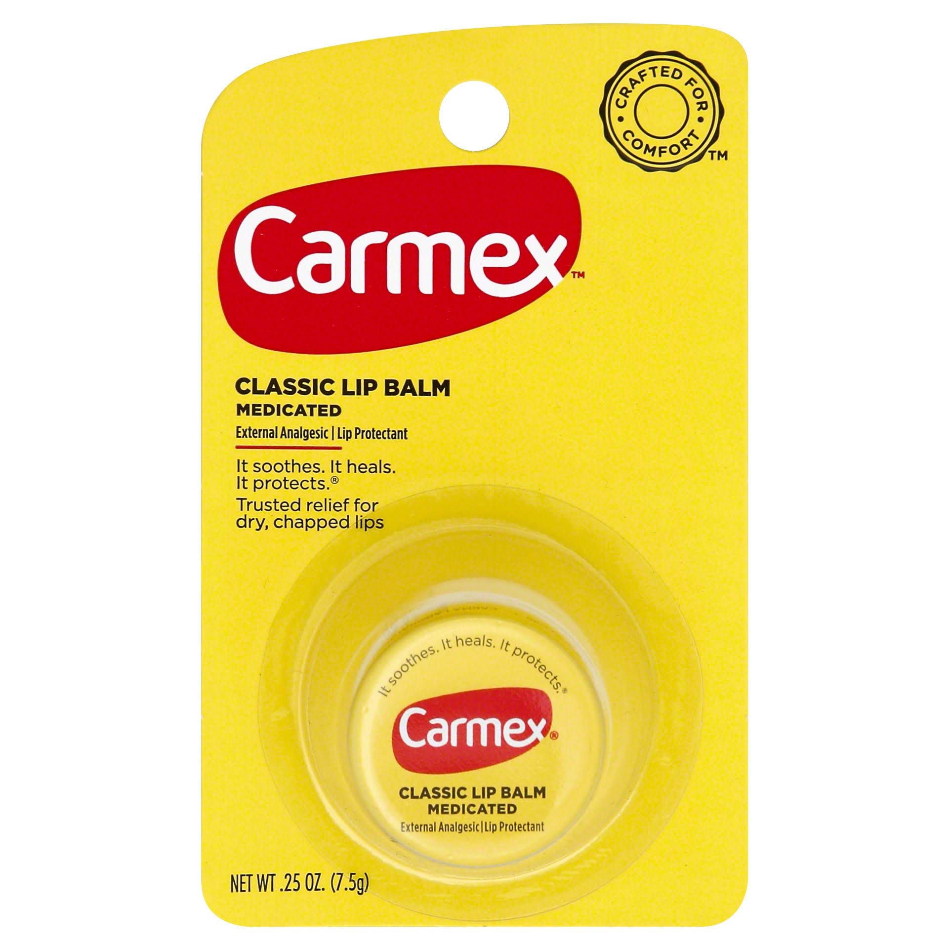 Carmex Classic Lip Balm Medicated - 0.25oz
