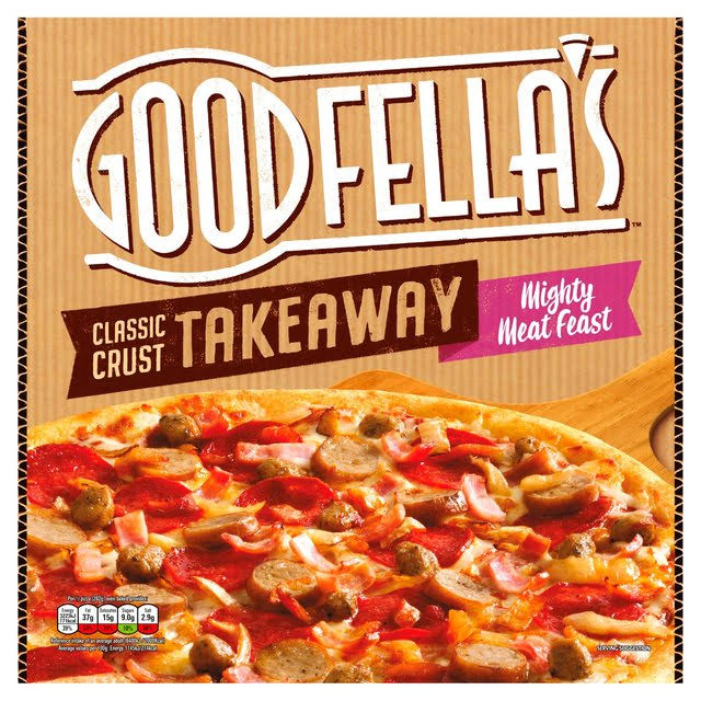 Goodfella's Takeaway Classic Crust Mighty Meat Feast - 596g