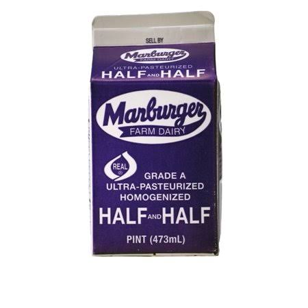 Marburger Farm Dairy Half & Half - 473ml