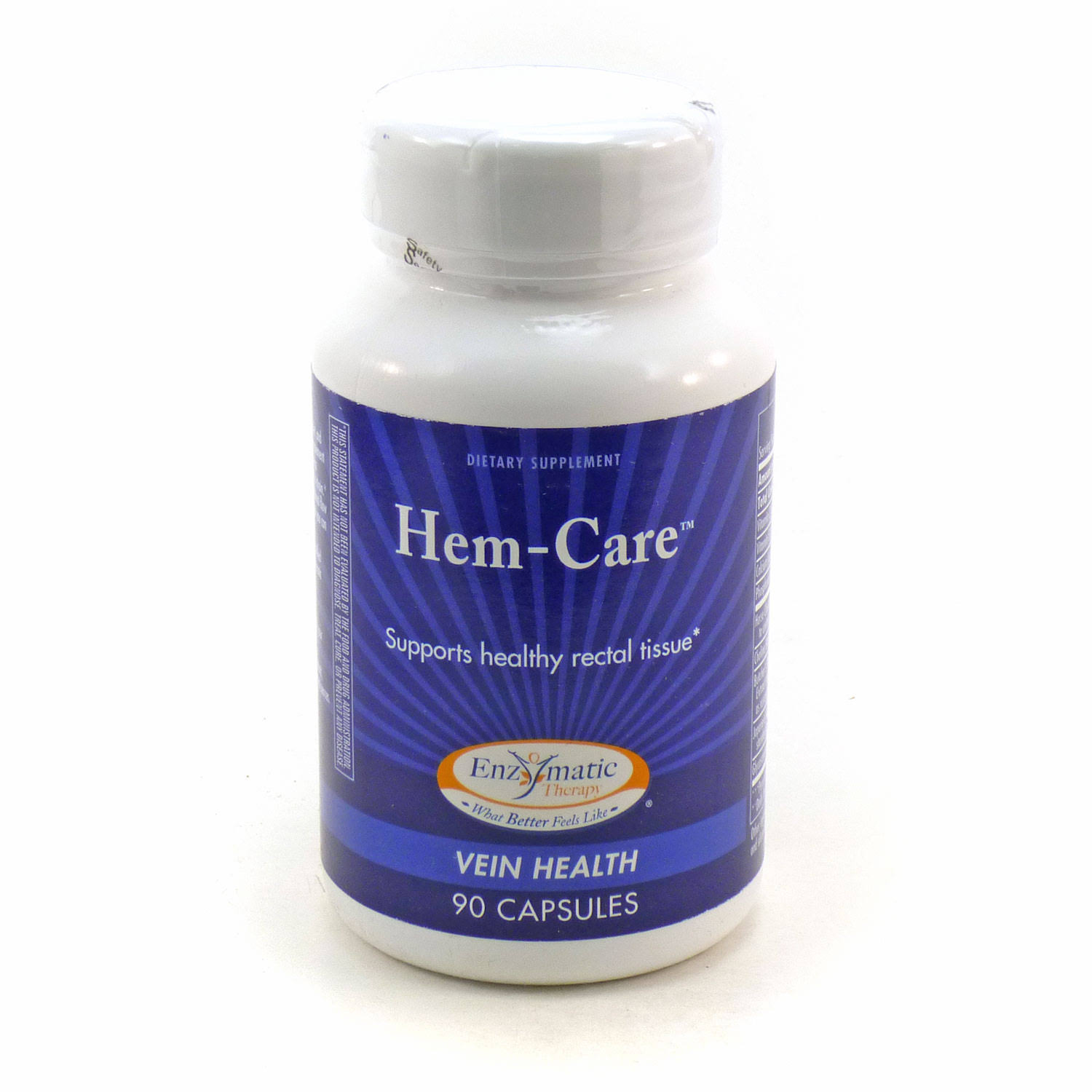 Enzymatic Therapy Hem-Care Dietary Supplement - 90 Capsules
