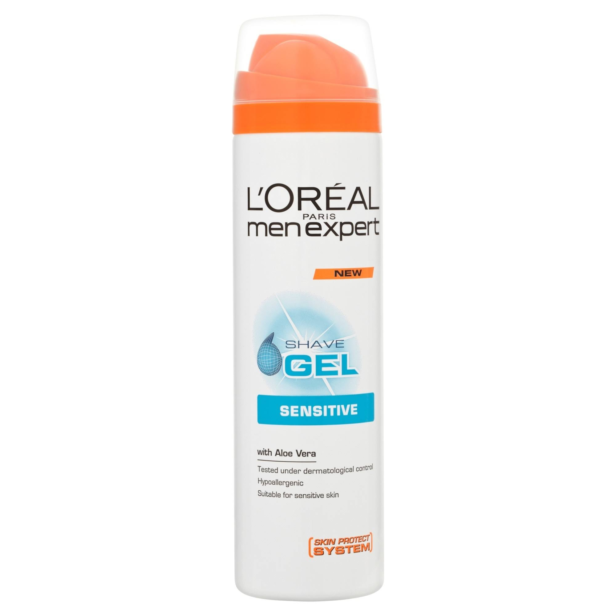 L'Oreal Men Expert Sensitive Shave Gel - 200ml