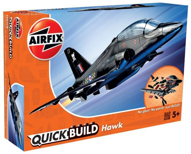 Airfix Quick Build Hawk Aircraft Model Kit