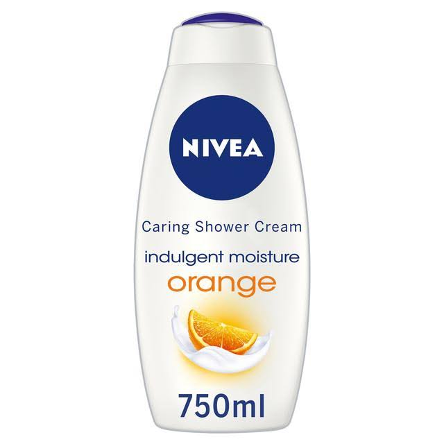Nivea Indulgent Moisture Orange Caring Shower Cream - 750ml