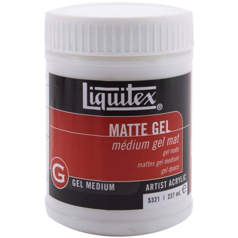 Liquitex Professional Matte Gel - Medium, 237ml