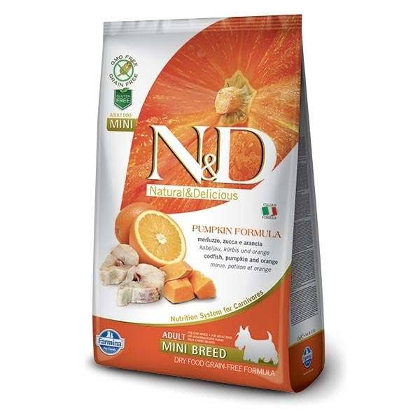 Farmina N&D Grain Free Adult Fish and Orange 2.5 kg