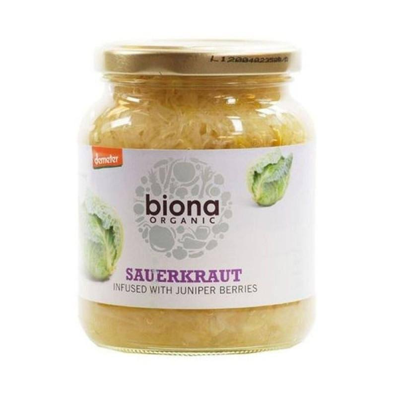 Biona Organic Sauerkraut Infused Sauce - with Juniper Berries, 360g