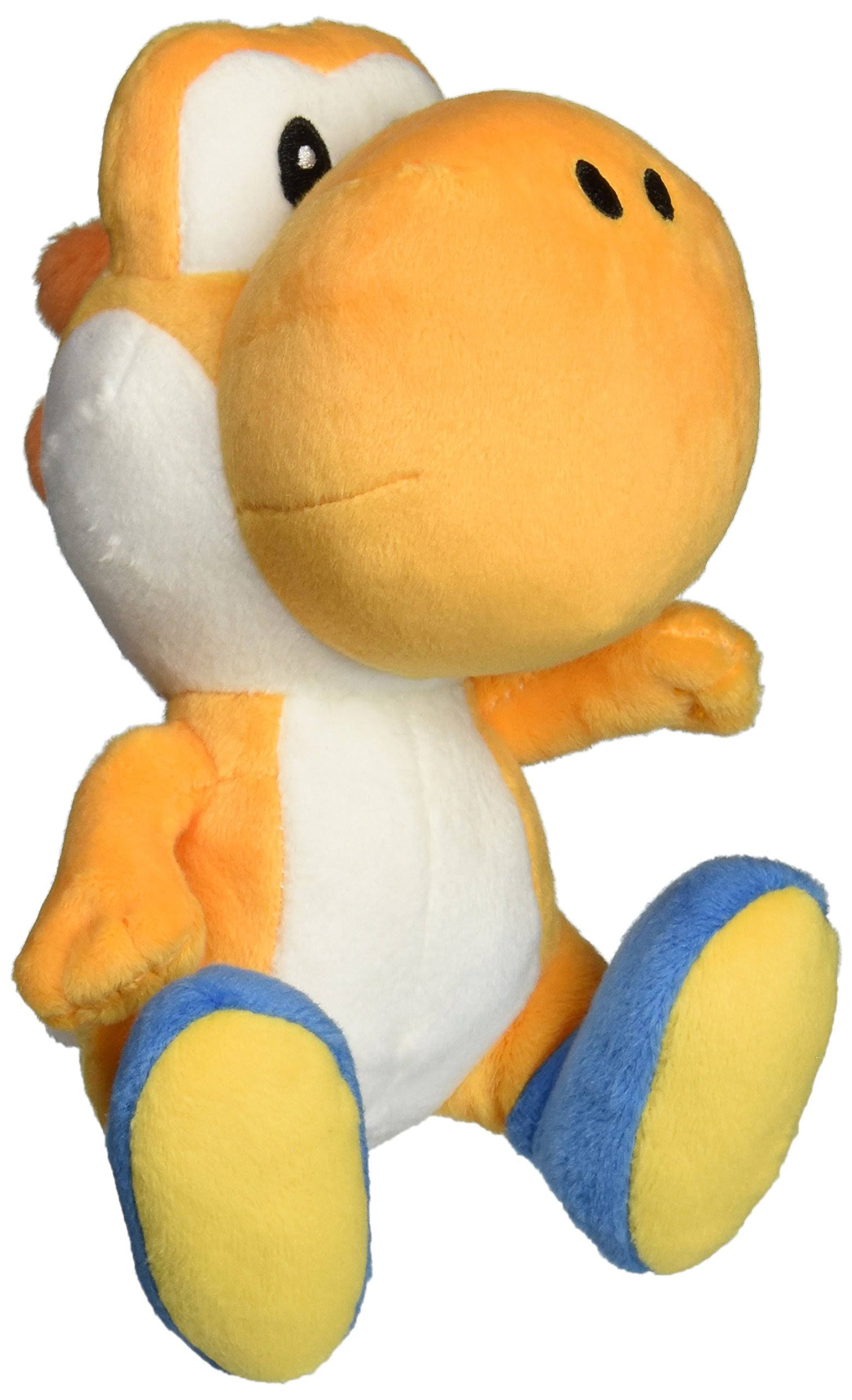 Little Buddy Super Mario Bros. Plush Toy - Yoshi, Orange, 6""