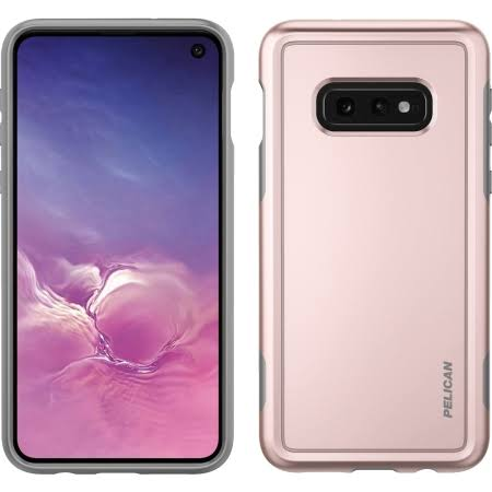 Pelican Products c48100-001a-mplg Adventurer Case for Galaxy S10e in Rose Gold/Gray, Price/1 Each