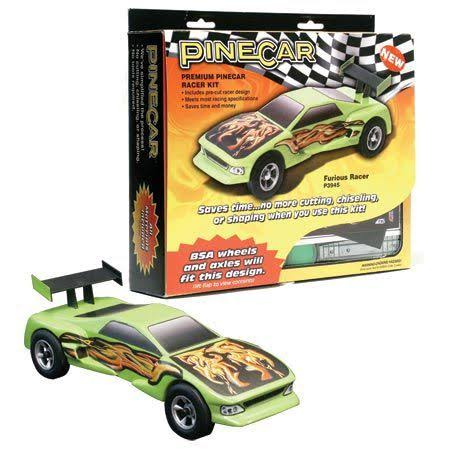 PineCar Premium Car Furious Racer Kit