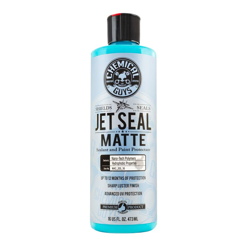 Chemical Guys JetSeal Matte Paint Protectant and Sealant - 16oz