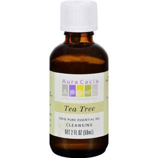 Aura Cacia 100% Pure Essential Oil - Tea Tree, 2oz