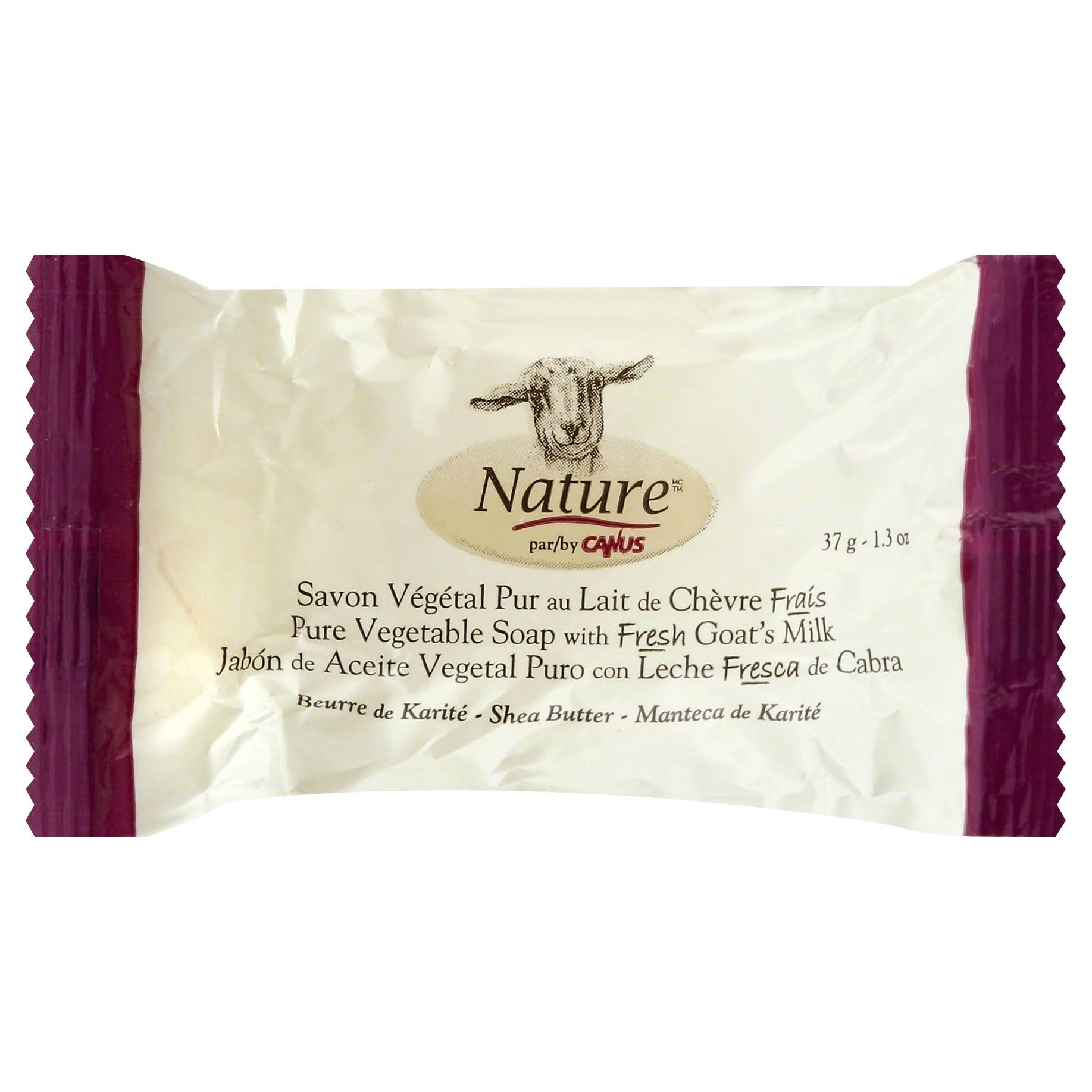 Nature Soap, Pure Vegetable, Shea Butter - 1.3 oz