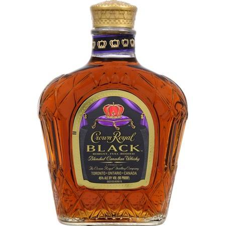 Crown Royal Black Canadian Whisky, Blended - 375 ml