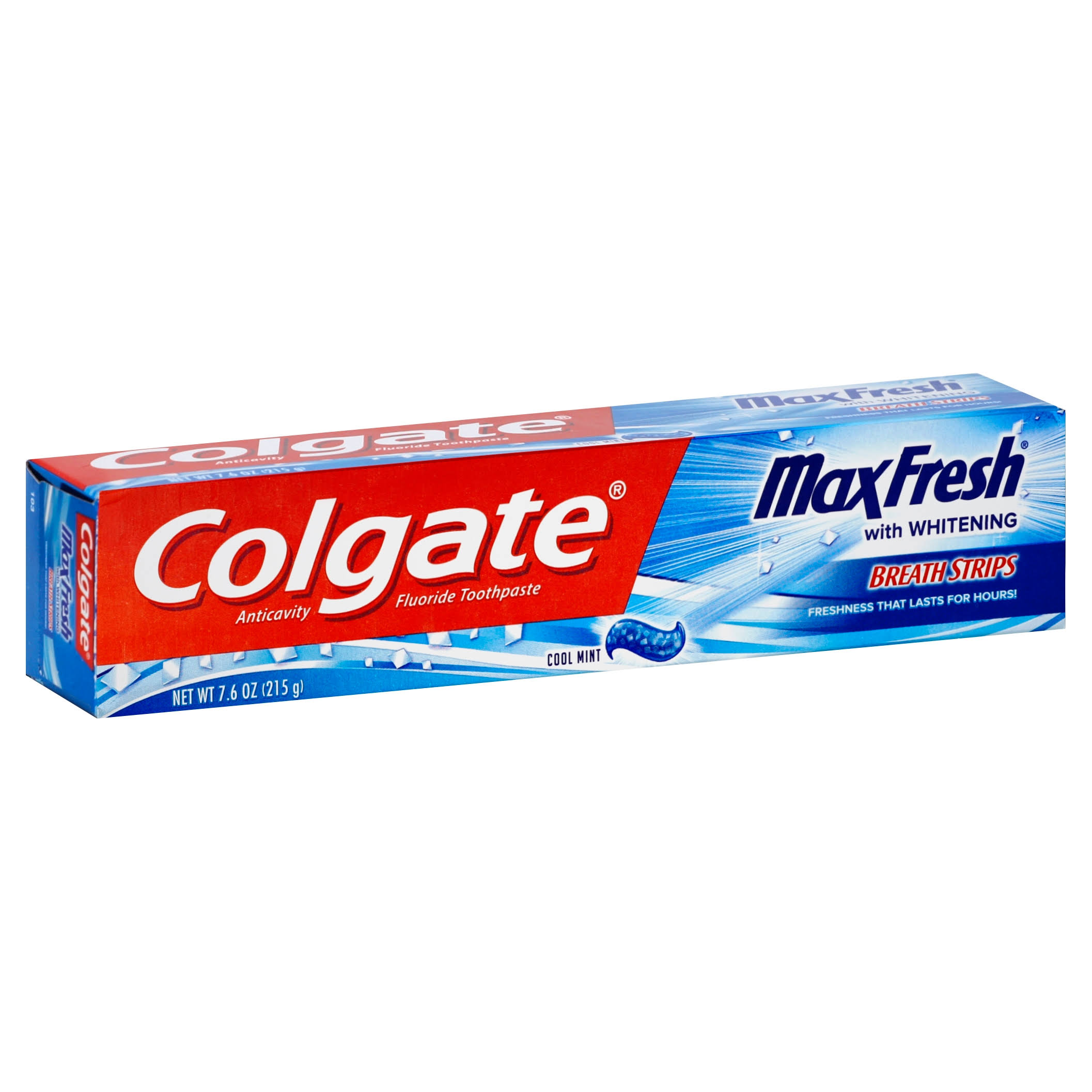 Colgate MaxFresh Toothpaste, Anticavity Fluoride, Cool Mint - 7.6 oz
