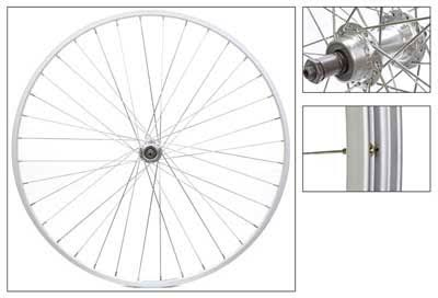 Wheel Master Rear Wheel - 700C, 5-7 speed, 36H, Silver Hub