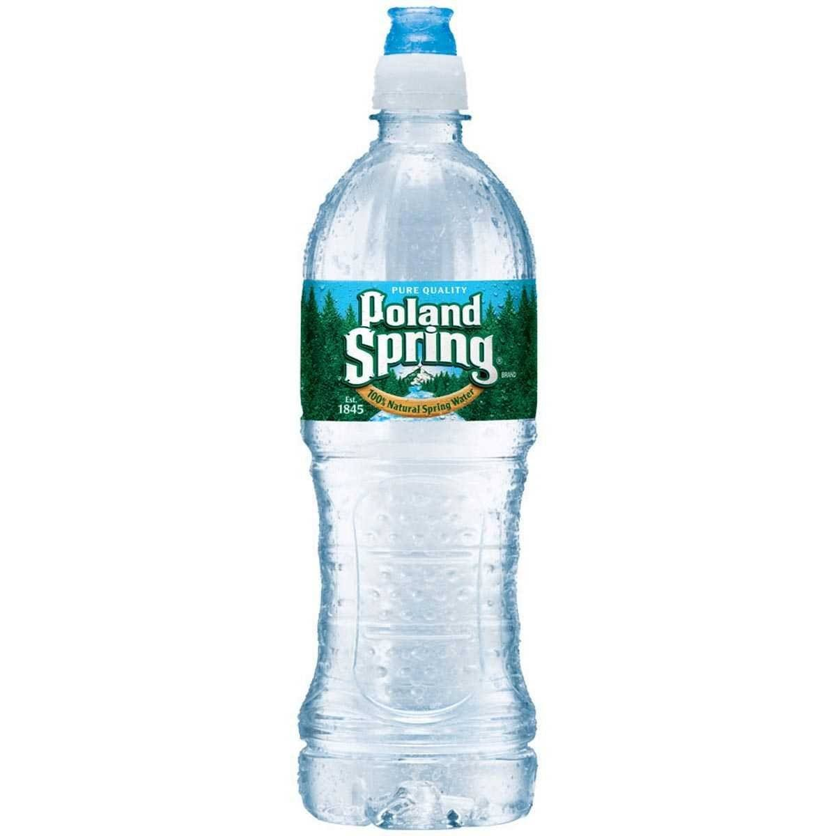 Poland Spring Water, Natural Spring - 700 ml