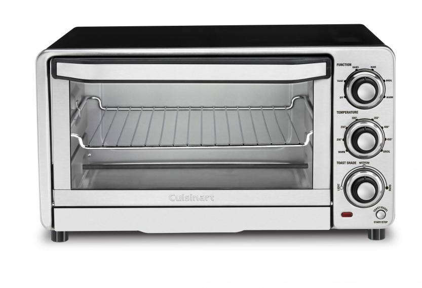 Counter Top Toaster Oven Compact Broiler - 1800W, Stainless Steel